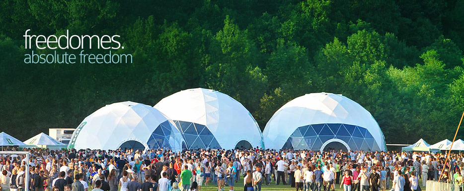 main s5 & Event domes dome tents geodesic domes marquees | Freedomes.com